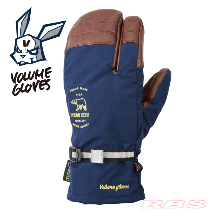 18-19 VOLUME GLOVES THREE KING NAVY 予約商品