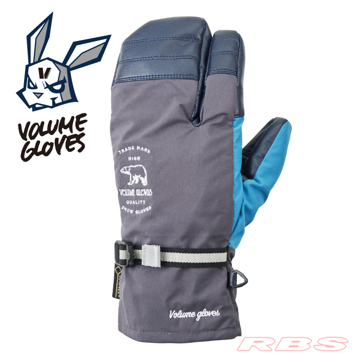 18-19 VOLUME GLOVES THREE KING CHARCOAL/D-BLUE 予約商品