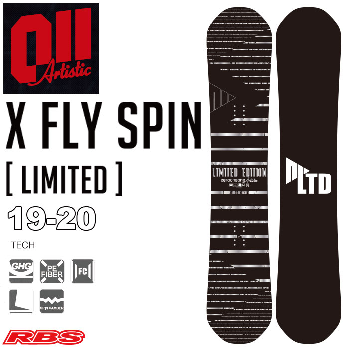 011 Artistic 19-20 X FLY SPIN LIMITED 予約商品