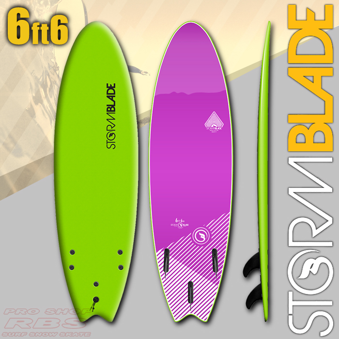 STORMBLADE 6'6 SWALLOW TAIL GREEN/VIOLET JADE 日本正規品