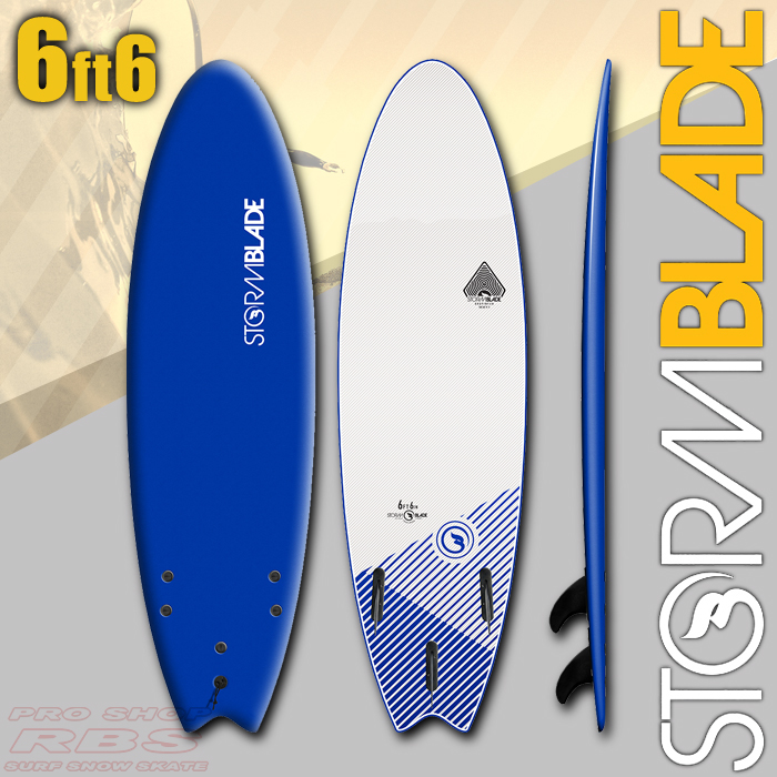 STORMBLADE 6'6 SWALLOW TAIL NAVY/WHITE 日本正規品