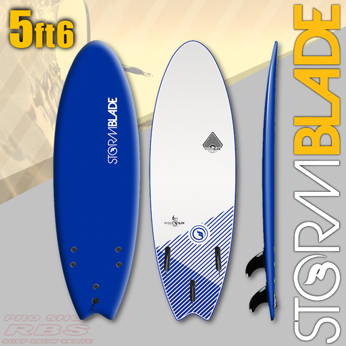 STORMBLADE 5'6 SWALLOW TAIL NAVY/WHITE 日本正規品