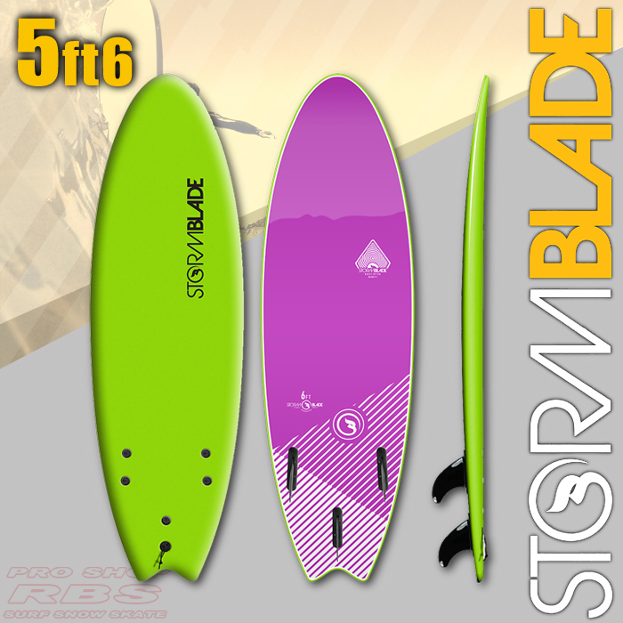 STORMBLADE 5'6 SWALLOW TAIL GREEN/VIOLET JADE 日本正規品