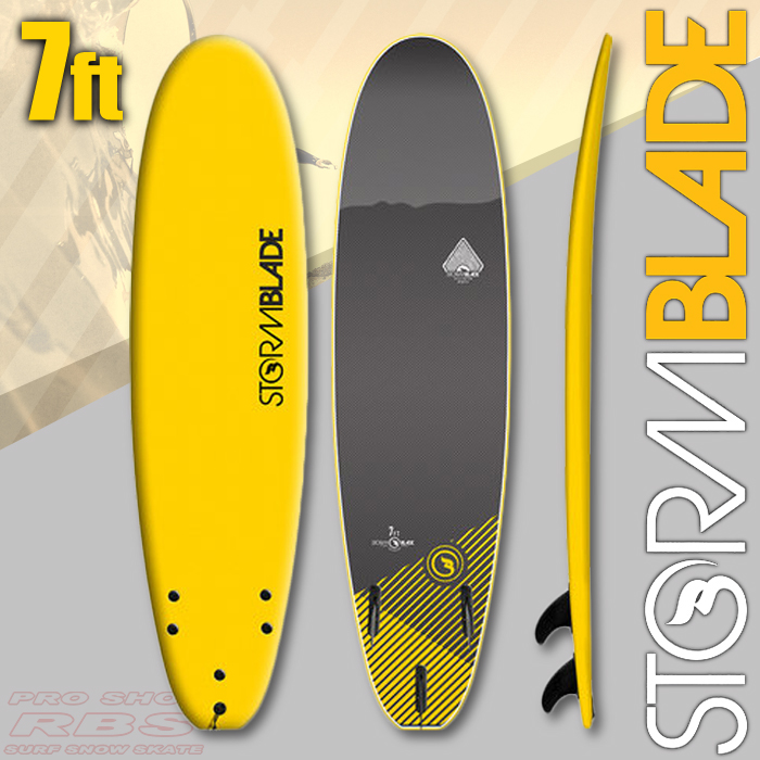 STORMBLADE 7 SURFBOARD  YELLOW/BLACK 日本正規品