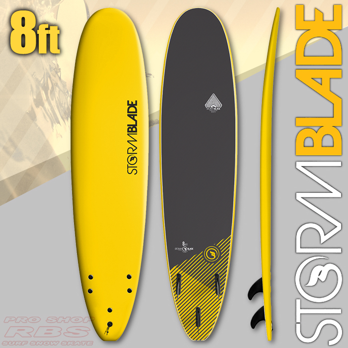 STORMBLADE 8 SURFBOARD YELLOW/BLACK 日本正規品