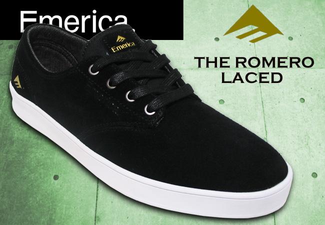 エメリカ 【EMERICA】ROMERO LACED BLACK/WHITE