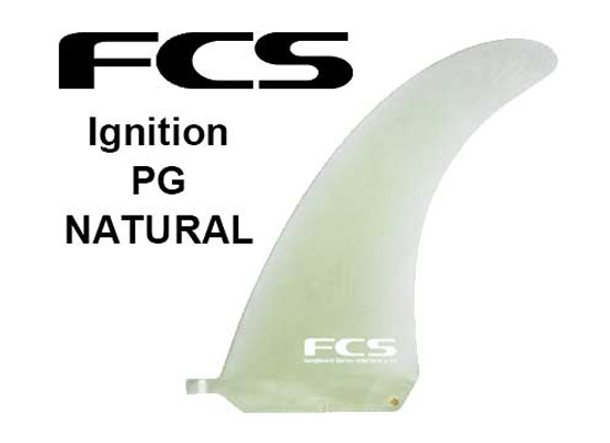 FCS フィン IGNITION PG 7,25 【 カラー NATURAL 】【サーフィン】【サーフボード】【日本正規品】