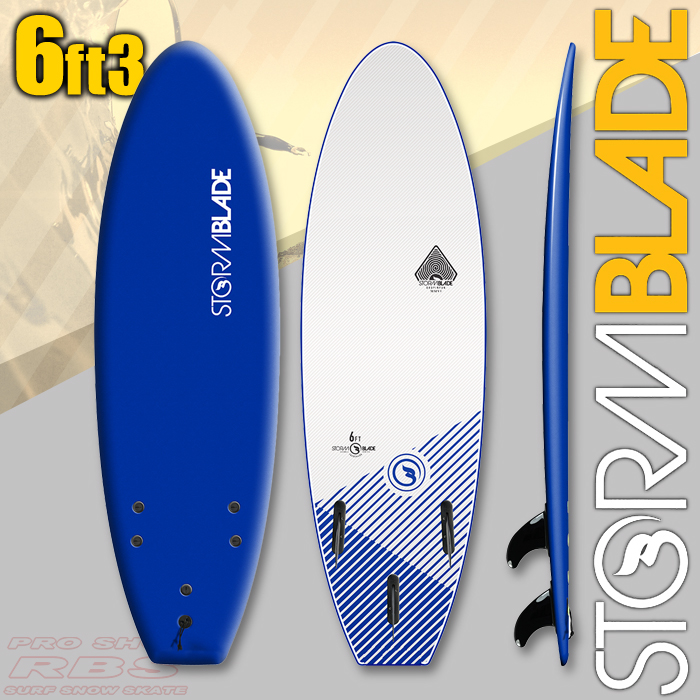 STORMBLADE 6'3 SQUASH TAIL NAVY/WHITE 日本正規品