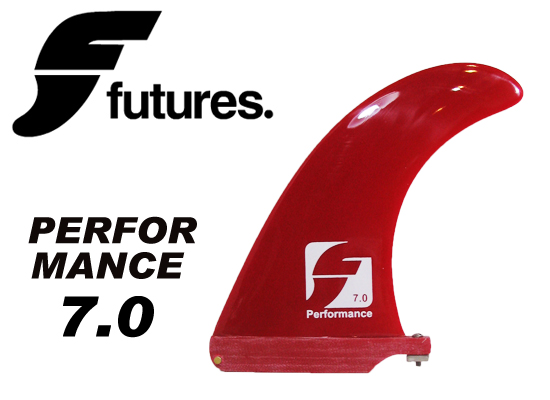 FUTURES フィン PERFORMANCE 7.0 RED 【フューチャー フィン】【サーフィン サーフボード FIN】【日本正規品】