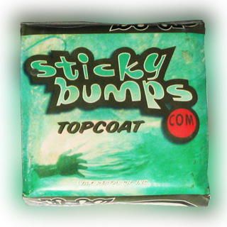 STICKY BUMPS 【TOP COAT】【COOL~COLD】【サーフィン ワックス】 【スティッキーバンプス】【日本正規品】