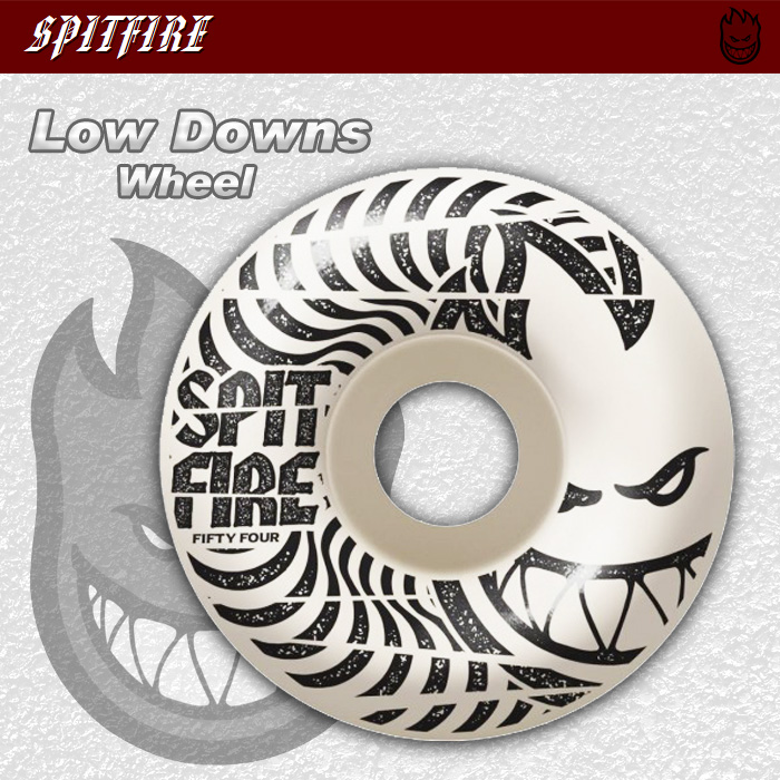 SPITFIRE ウィール LOW DOWNS 50mm/52mm/54mm 【日本正規品】
