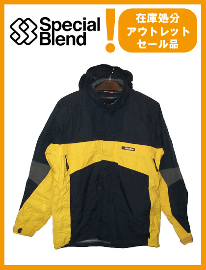 SPECIAL BLEND  スペシャルブレンド  MERIDIAN HOODED BAND JACKET  YELLOW×NAVY【日本正規品】