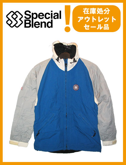SPECIAL BLEND  スペシャルブレンド  COMPASS HOODED PIPING JACKET /BLUE【日本正規品】