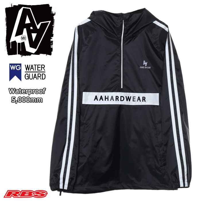 AA HARD WEAR 19-20 ANORAK JACKET BLACK 日本正規品