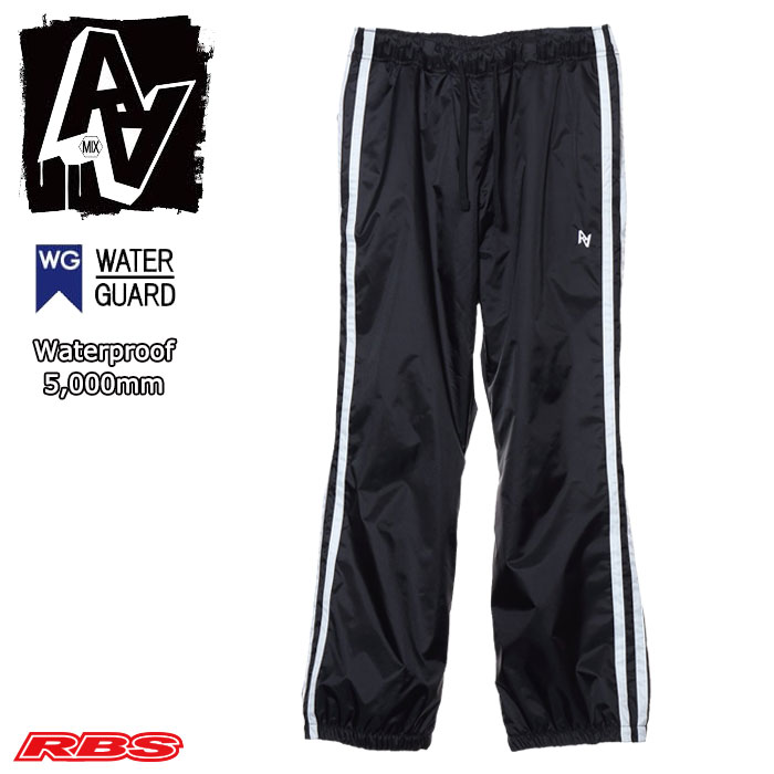 AA HARD WEAR 19-20 TRACK PANTS BLACK 日本正規品