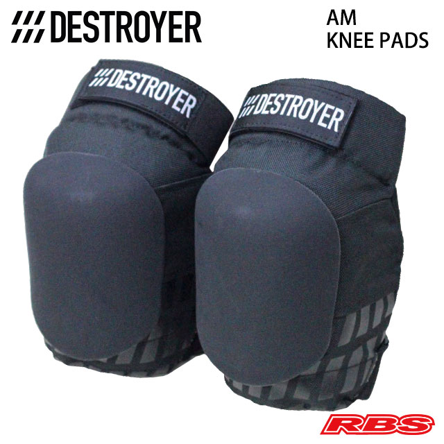 DESTROYER AM KNEE PADS BLACK 日本正規品