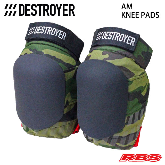 DESTROYER AM KNEE PADS CAMO 日本正規品