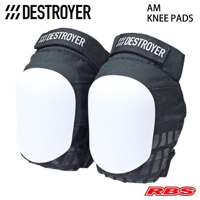 DESTROYER AM KNEE PADS WHITE 日本正規品