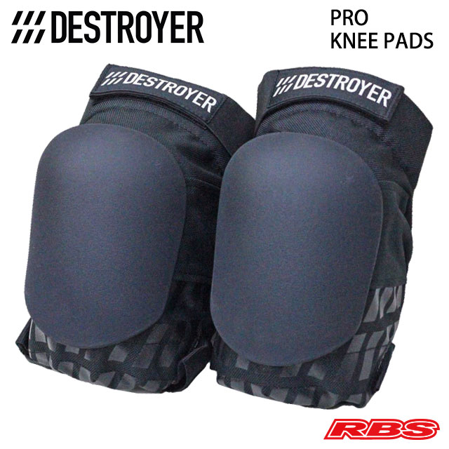 DESTROYER PRO KNEE PADS BLACK 日本正規品