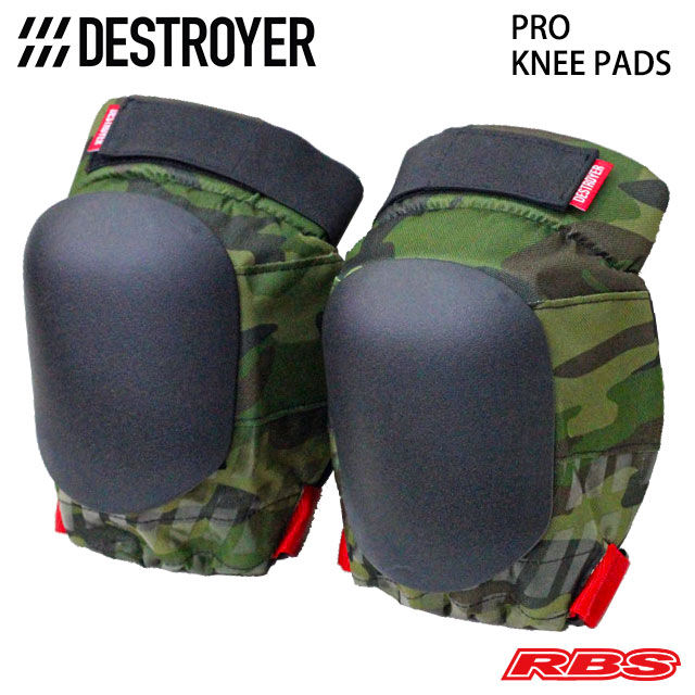 DESTROYER PRO KNEE PADS CAMO 日本正規品