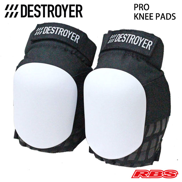 DESTROYER PRO KNEE PADS WHITE 日本正規品