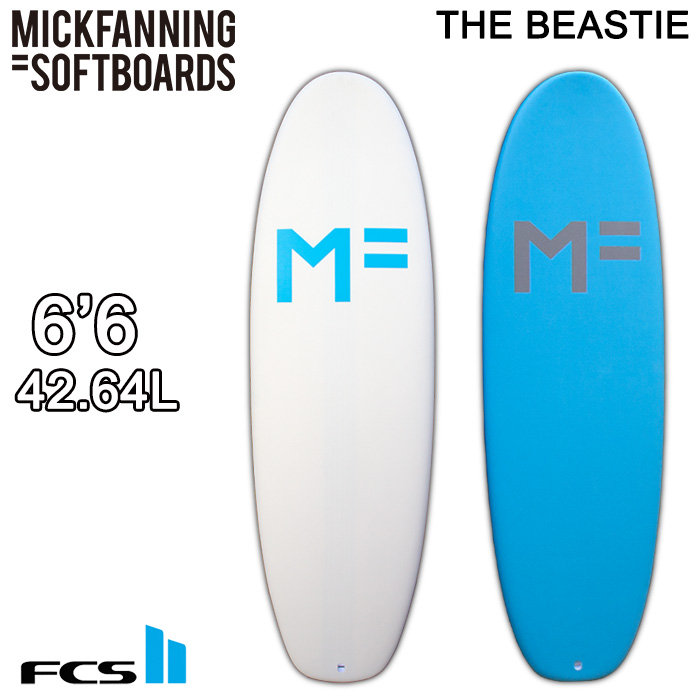 MICKFANNING SOFTBOARDS THE BEASTIE 6'6 日本正規品